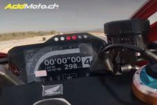 La Honda CBR1000RR-R Fireblade SP prend l'air sur le circuit d'Almeria