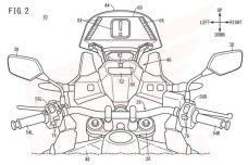 Honda dépose un brevet pour l'affichage tête haute sur ses motos