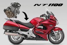 Honda dépose le nom NT1100 en Europe - Sport touring en approche ?