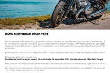 Week-end de test BMW par Facchinetti motos