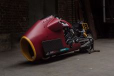Indian Bobber Appaloosa by Workhorse Speedshop – Avec du vrai Randy Mamola dessus