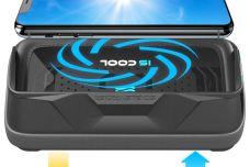 Support de smartphone IS COOL avec ventilateur intégré - Fini la surchauffe