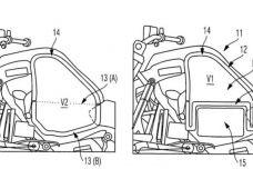 Kawasaki dépose un brevet pour une moto hybride
