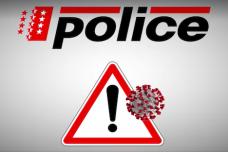 COVID-19 - La police Cantonale valaisanne adresse un message aux motards