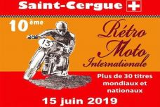 La 10ème Rétro Moto Internationale de Saint-Cergue aura lieu le samedi 15 juin 2019