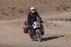 Paris-Dakar par les pistes au guidon d'une Honda Transalp 600