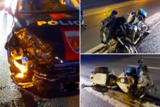 France - Un rodéo sauvage de 40 deux-roues sème le trouble - Un policier blessé