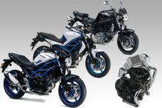 Et si Suzuki préparait un bicylindre en ligne pour sa SV650 ?