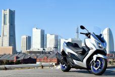 Le nouveau Suzuki Burgman 400 se présente
