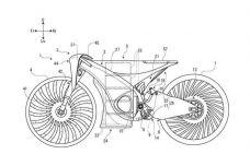 Suzuki dépose un brevet d'une moto hybride