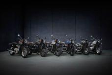 Triumph met à jour sa gamme Modern Classics: Bonneville T120, T120 Black et T100, Street Twin et sa série limitée Gold Line, Speedmaster et Bobber au programme.