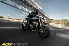 Triumph Speed Triple 1200 RS - 10kg de moins et 30ch de plus, imaginez le changement !