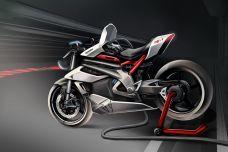 Triumph et l'industrie anglaise sont unis dans un projet électrique nommé TE-1 Prototype
