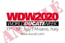 Annulation du World Ducati Week 2020 qui devait avoir lieu du 17 au 19 juillet