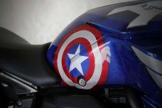 Yamaha MT-07 Marvels - La moto des super héros selon AD Koncept