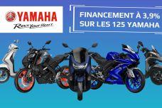 Offre limitée : leasing 3.9% sur les Yamaha 125 cm3