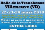 Moto Show – Exposition de motos à Villeneuve (VD) du 22 au 24 mars 2019