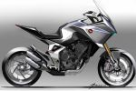 """Honda CB4X Concept """"plaisir 7 jours sur 7"""""""