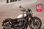 208 pages pour découvrir 60 années de succès de la Triumph Bonneville