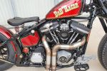 Harley-Davidson Bob Racer by L'Yote Brush - Chapeau l'artiste !