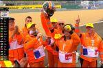 Magnifique geste d'Alex Rins à l'issue du Grand-Prix de France