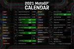 MotoGP 2021 – Le calendrier (encore) mis à jour