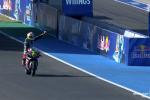 Grand-Prix d'Andalousie - Dominique Aegerter remporte la course MotoE