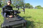 France - Des policiers utilisent des drones pour verbaliser des motards
