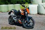 KTM Duke 125 – Ne croquez pas l'Orange sanguine!
