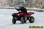 Yamaha Grizzly 700 – Holiday on Snow
