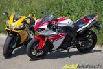 Comparo: Yamaha R1 WGP 50TH vs Aprilia RSV4 R APRC - Sushi ou Pasta?