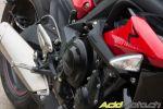 La Triumph Street Triple R ABS 2013 à l'épreuve du feu... ou de la neige