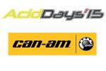 Acid'Days 2015 - Les tricycles Can-Am présents et disponibles à l'essai