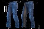 Easy 5 - Un sur-pantalon en jeans par 1964 SHOES