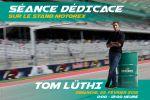 Motorex à Swiss-Moto, c'est la rencontre de Tom Lüthi et des calendriers Motorex-Racing en cadeau