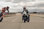 Superbike vs Supermotard - Michelin met en scène l'affrontement