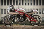 Kawasaki ER-6n by Louis - Un café racer qui tourne au protoxyde d'azote
