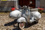 Side-car Vespa '69 - Comme un air de Dolce Vita