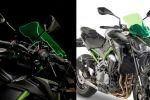 GIVIlime screen - Des bulles sécuritaires pour les Kawasaki