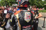 Shoei X-Spirit 3 Edition limitée Hickman Trooper - Lorsque Iron Maiden et les bières Trooper s'associent