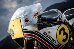 Préparation Suzuki Bandit en hommage à Marco Lucchinelli