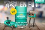 """Motorex lance un concours """"Art en fût"""""""