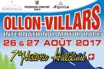 Course de côte historique d'Ollon-Villars, les 26 et 27 août 2017