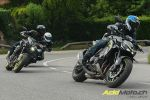 Comparatif gros roadsters - Adrénaline en tube! Kawasaki Z1000R Edition vs Triumph Speed Triple RS vs Ducati Monster 1200 S vs Yamaha MT-10