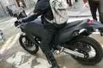 La Yamaha T7 surprise lors d'un roulage à Milan