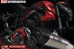 Deux silencieux Yoshimura R-11 pour la Honda CB1000R !