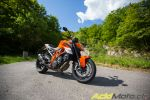 KTM Superduke 1290R - Vélo à postcombustion