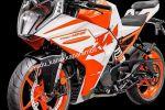 Les photos des nouvelles KTM RC 125 et 390 en balade sur le net