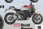 La fin du tubulaire sur la Ducati Monster 2021 se précise