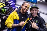 Valentino Rossi vs Lewis Hamilton - Comme un air de grosse publicité masquée